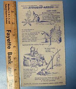1949, 1950 And 1952 Nabisco Straight Arrow Injun-uities Collectors Cards