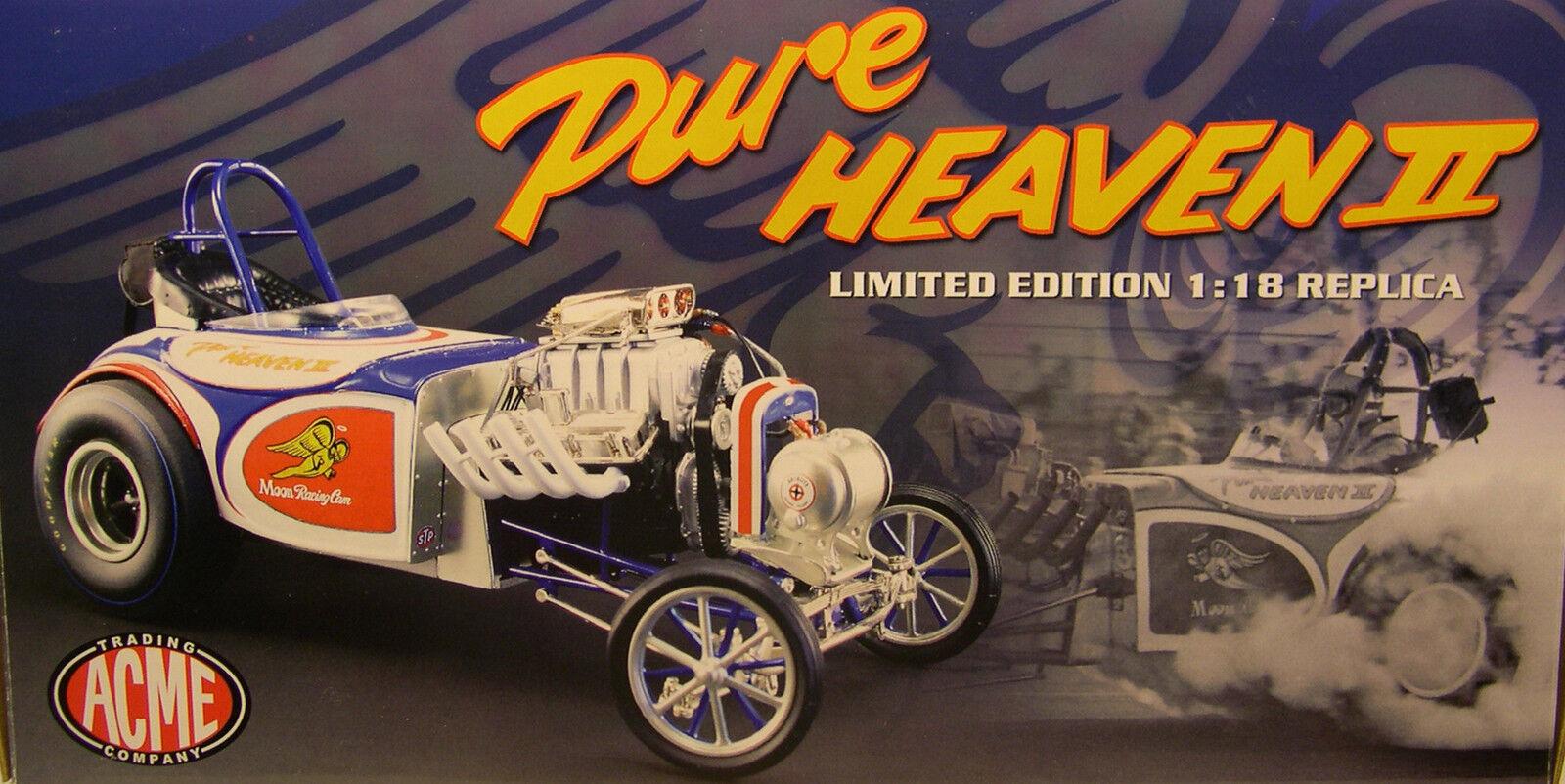 PURE HEAVEN II ALTErosso DRAG CAR ACME 1:18 SCALE DIECAST METAL MODEL CAR