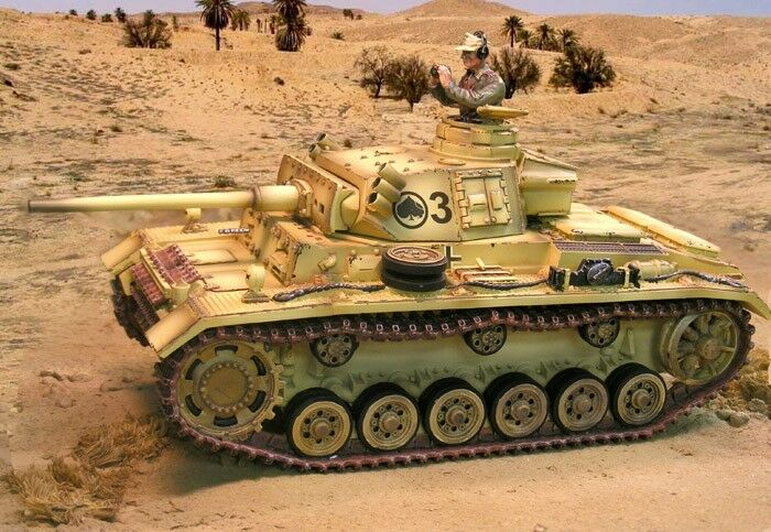 The Collectors Showcase WW2 Deutsche Dak CS00697 Panzer III M Tank Set MIB