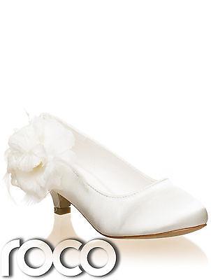 Niña Marfil Zapatos,ZAPATOS COMUNIÓN,Zapatos Flores, zapatos niño, Dama De Honor