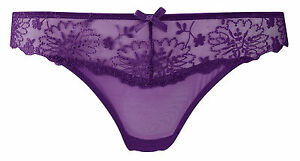 Industrious Panache Ariza Thong 5059 Purple Panache Lingerie Sale Products Hot Sale Intimates & Sleep