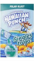 12 Boxes (96 Packets) Hawaiian Punch Singles To Go Polar Blast Dink Mix