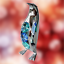 Crystocraft-Penguin-Crystal-Ornament-With-Swarovski-Elements-Gift-Boxed-Blue thumbnail 3