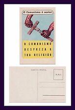 PORTUGAL ANTI COMMUNIST O COMUNISMO E ASSIM, DESPREZA A TUA RELIGIAO CIRCA 1935