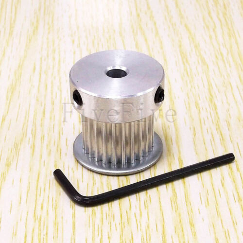 HTD3M 24T 6//6.35//8//10//12//12.7//14mm Bore W-16mm Stepper Motor Timing Belt Pulley