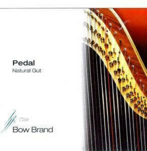 Bow Pedal Natural Gut Harp String No.17 3rd Octave C=DO 1 string