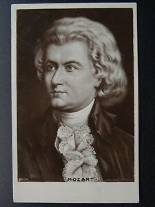 Musical-Composer-WOLFGANG-AMADEUS-MOZART-c1910-RP-Postcard-by-Rotary