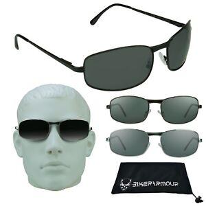 237ad77ba6 XL Grande y Alto Gafas de Sol Hombre Cabeza Grande Ancho Rectangular ...