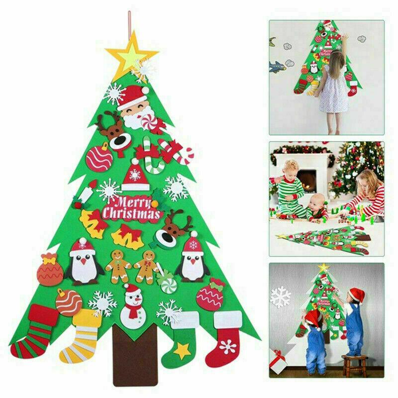Large DIY Felt Christmas Tree £8.29 @ eBay