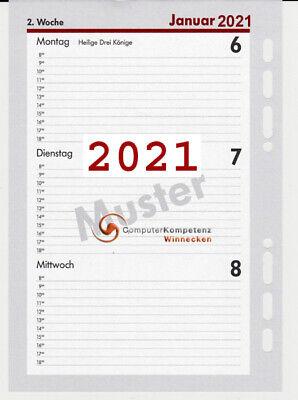 BSB Terminkalender Wochenplaner Taschenkalender Buchkalender bsb V-Book 020223 mit Gummiband weiches Kunstleder 2021 1 Woche = 2 Seiten wei/ß mit schwarzen Punkten Gr/ö/ße: circa A6