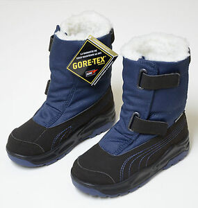 Puma-acima-GTX-PS-Goretex-zapatos-botas-de-invierno-Zapatos-de-invierno-ninos-Boots-shohe