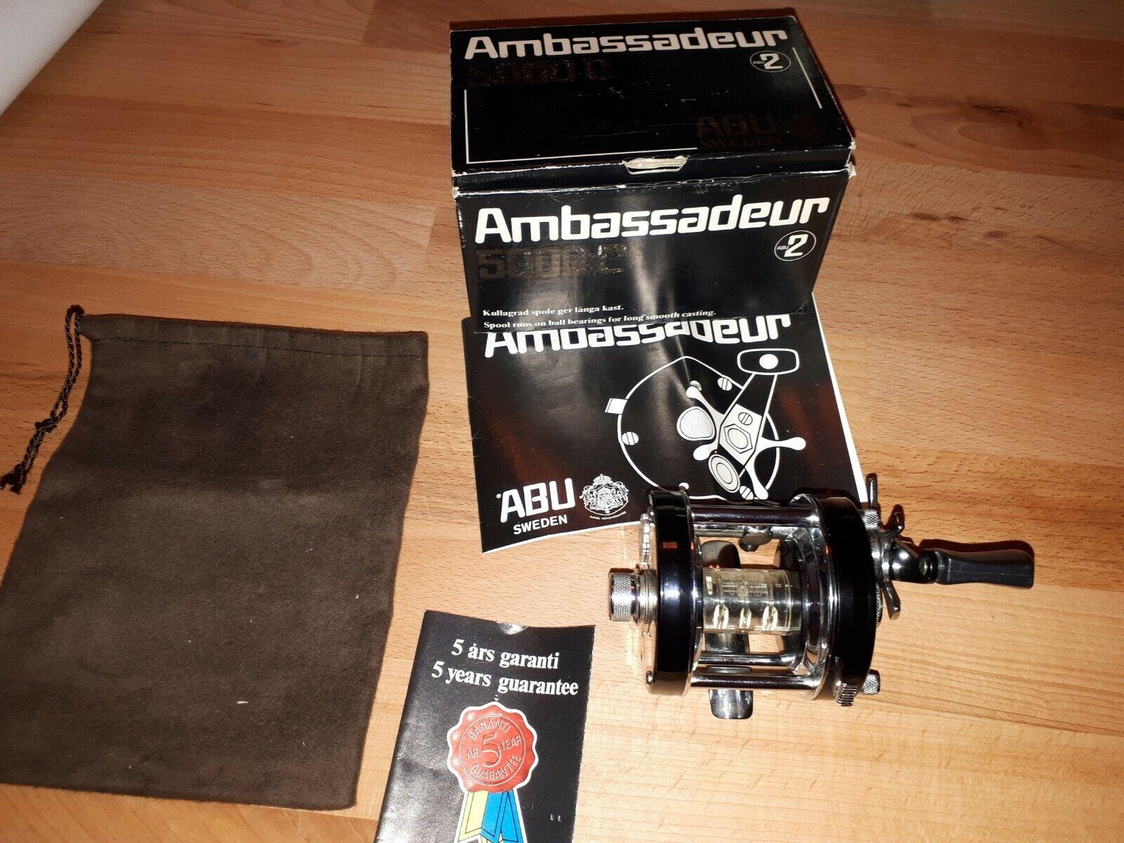 Abu Ambassadeur 5000C NO 741003 mit Box und Papiere new