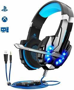 Micro Casque Gaming Compatible PS4/ Xbox One/PC/Mac/Nin