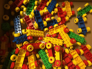 4-lego-duplo-2X6-train-random-color-base-free-shipping
