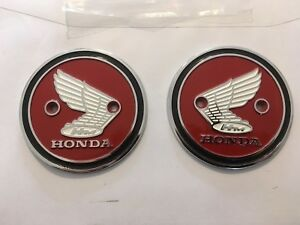 Honda-Z50A-Z50M-Tank-Badges-New-Honda-Monkey-Bike