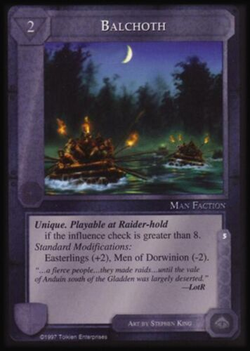 MECCG CCG Middle-earth Balchoth The Lidless Eye LE NEAR MINT
