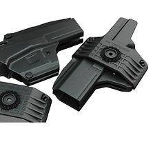 Z8026 IMI Defense MORF-X3 IWD OWB Revolutionary Black Poly Holster for Glock 26