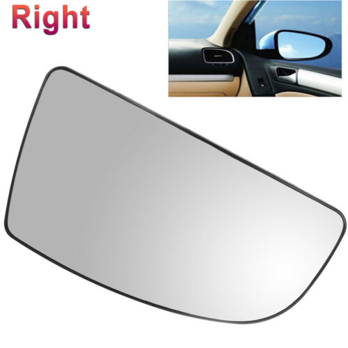 FOR FORD TRANSIT MK8 LOWER DOOR WING MIRROR GLASS 2014 ON DRIVER RIGHT BACK CLIP