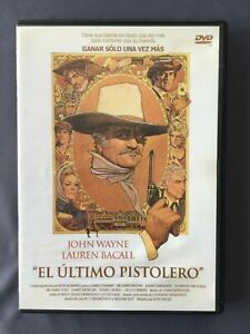 DVD-EL-ULTIMO-PISTOLERO-John-Wayne-Lauren-Bacall-Ron-Howard-James-Stewart-SIEGEL