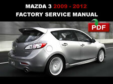 mazda 3 2009 2010 2011 2012 oem workshop service repair maintenance rh ebay com 2009 mazda 3 workshop manual 2009 mazda 3 workshop manual