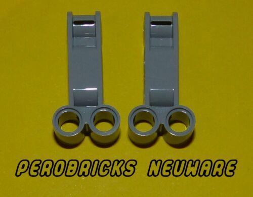 Lego Technic Technik 2 x Achs und Pinverbinder 4L hellgrau #98989 NEUWARE