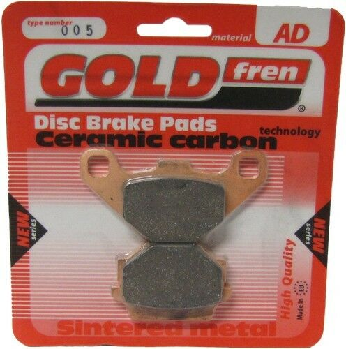 Sintered Goldfren Brake Pads For Kawasaki GT 550 Z550G4 Front LH 1986