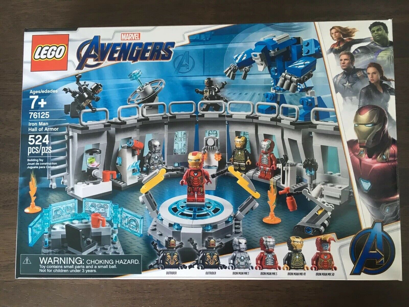 LEGO 76125 MARVEL Iron Man Hall Of Armor Avengers Endgame IN HAND READY TO SHIP