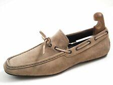 Paco Milan Berwick 1707 Herren-Loafer aus Wildleder mit Horsebit und Web Penny