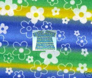 New-Scrubs-Print-Scrub-Top-XS-Flower-Power-lll