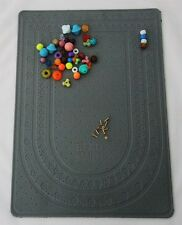 XL Two Sided Bead Board On One Side Sticky Bead Mat On Other Side