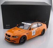 Bmw 3er e 92 m3 GTS Coupe naranja 25 años m power 2005-2013 1//18 Kyosho modelo...