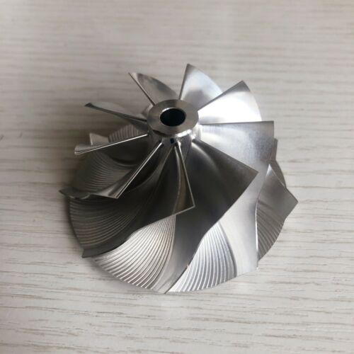 TD05H 20G reverse 52.56//68.01mm 9+0 blades performance Billet compressor wheel