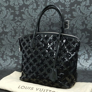 Image is loading Rise-on-LOUIS-VUITTON-Monogram-Patent-Fascination-Lockit- 8a00263155acd