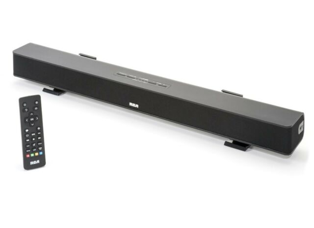RCA RTS736W Media Streaming Sound Bar 25W 1080p Wifi Audio Line-In Netflix Hulu