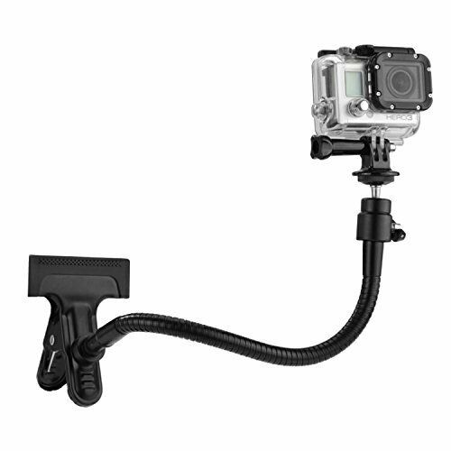 XIANYUNDIAN 8 Sections Clamp Multi-Function Camera Flexible Clamp Arm Bracket Holder Mount Adapter for GoPro Hero 4//3+//3//2//1 Action Camera Neck Tripod Camera Mounts Clamps