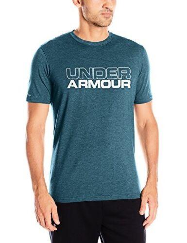 Pick SZ//Color. Under Armour UA Wordmark MD BLUE MARKERHEATHER