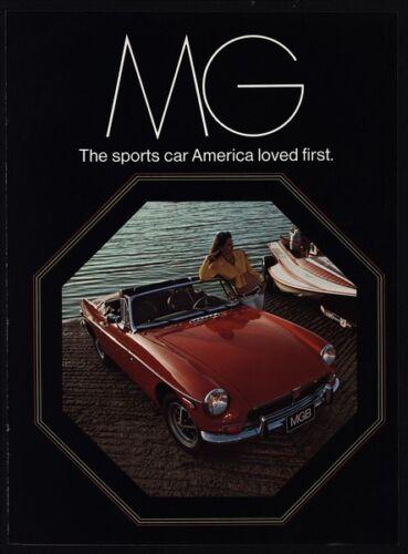 1973 MGB GT Convertible MG Midget MG TC 6 Page Vintage Magazine Catalog