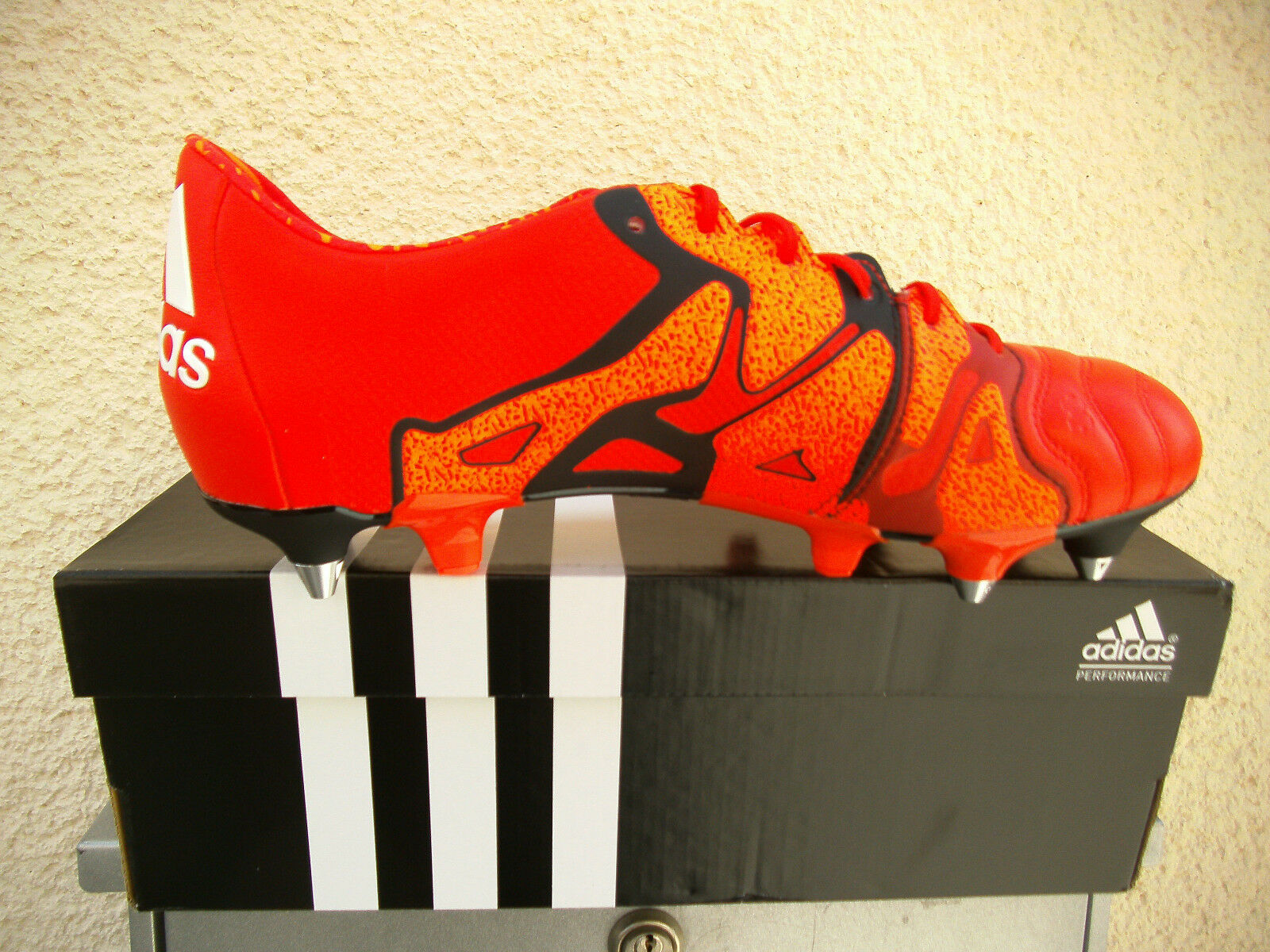 Adidas X 15.1 SG Leather Orange Gr. 39 1 1 1 3 - 40 - 42 - 48 2 3  (B26974)  Preisha c2580c