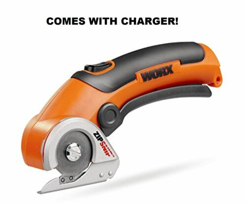 Rechargeable Cordless Electric Handheld Box Paper Cutter WX081L Worx Zip Snip