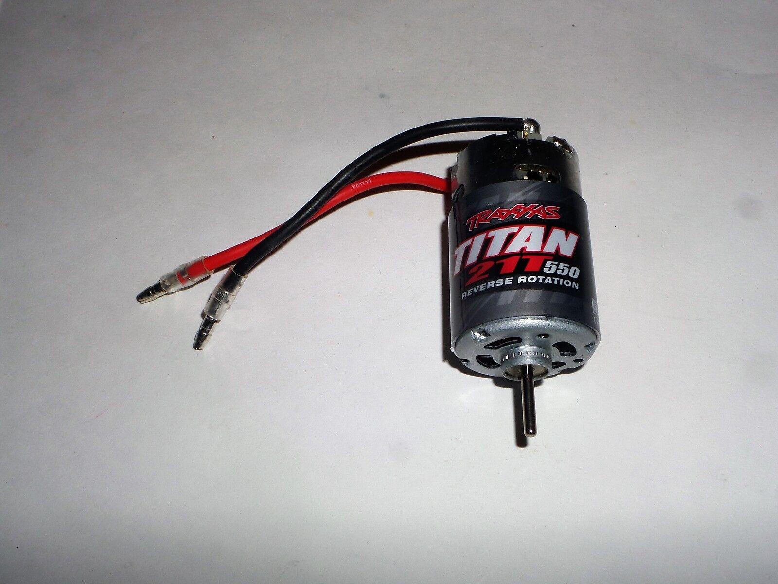 TRAXXAS TRX4 Tactical Crawler Motor 21T 550 Reverse redation