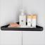 Toughened-Bathroom-Corner-Shelf-Shelve-Glass-Shower-Wall-Mount-Storage-Shelving thumbnail 10