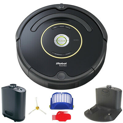 iRobot Roomba 650 or 655 Automatic Robotic Vacuum w/ Dock (Black or Silver)
