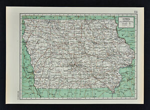 Details about c1949 Britannica Map - Iowa - Des Moines Cedar Rapids on iowa river iowa map, stockton iowa map, iowa state map, jackson iowa map, lacrosse iowa map, aplington iowa map, dundee iowa map, shueyville iowa map, quad cities map, kansas iowa map, norfolk iowa map, iowa county map, chester iowa map, clemons iowa map, cheyenne iowa map, dubuque iowa map, interstate 80 iowa map, bettendorf iowa map, clermont iowa map, council bluffs iowa map,