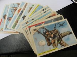 Lotto-di-16-Figurine-Cartonate-SIDAM-034-Le-Armi-034-Spettacolari-da-magazzino