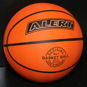 Basketball-Groesse-7-Official-Size-amp-Weight-Ball-Basket-Nylon-Wound-30cm-von-Alert