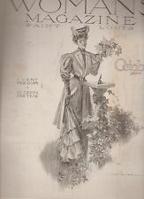 Woman's Magazine October 1905 Fancywork Fashion
