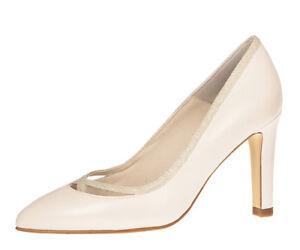Ivory Brautschuhe Shoes Dunya Wedding 37 Details Glitzer Fiarucci Pumps Zu Mit Leder tBosCQrhdx