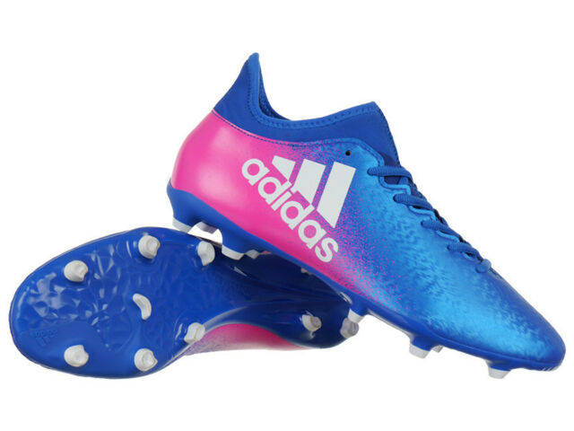 fb1a5a196d4e Men s adidas X 16.3 FG Firm Ground Boots FG Soccer Moulded Studs Cleats  Shoes