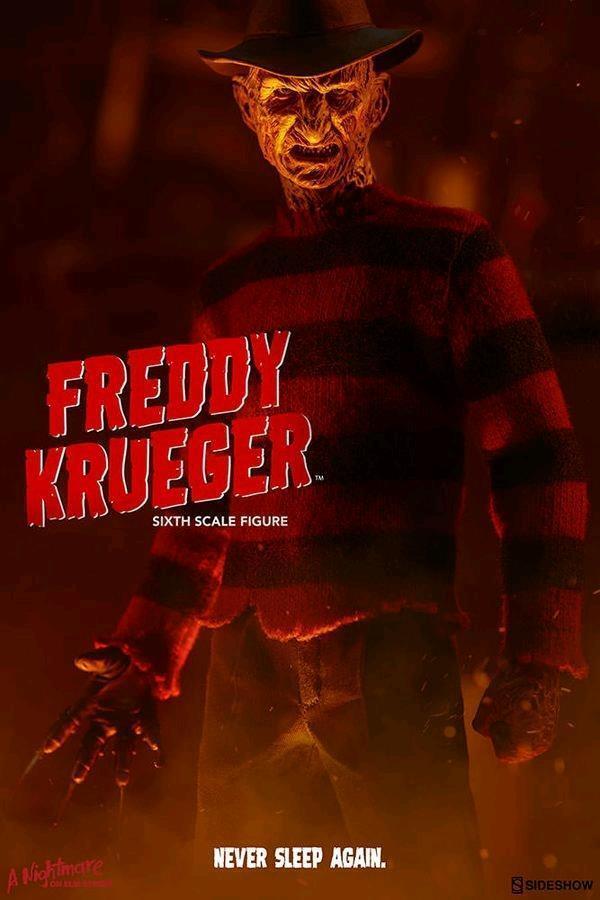 Una pesadilla en Elm Street Freddy Krueger 12 16 escala figura Sid 100359