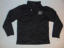 ARMY Black Knights US Mens Jacket Black Zip Up Sz Large ?  Football NEW HOLE